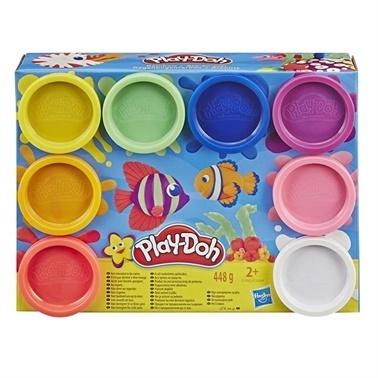 Play-Doh Play-Doh 8Li Hamur Gökkuşağı Renkleri Renkli